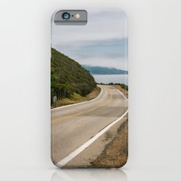Big Sur Highway 1 Wall Art | California Nature Mountains Ocean Beach Coastal Travel Photography Print iPhone Case