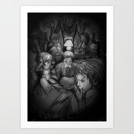 Nightmares Art Print