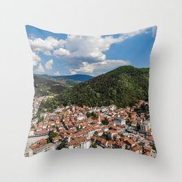 Landscape Photography by Inera Isovic Throw Pillow