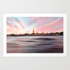 Peter & Paul Fortress Art Print