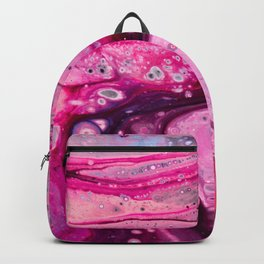 Unicorn Vomit Acrylic Pour 2248 Backpack
