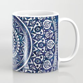Blue and White Mandala - LaurensColour Coffee Mug
