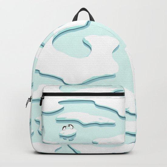 Arguing Penguins Backpack