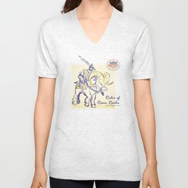 Rider of Rams Realm Unisex V-Neck