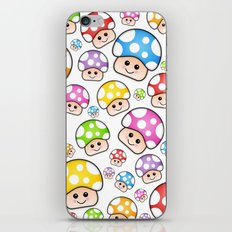 Iddy Diddy Mushrooms  iPhone & iPod Skin