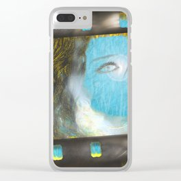 Frame Ue Clear iPhone Case