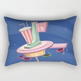 Retro Diner Rectangular Pillow