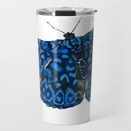 Starry Night Butterfly Travel Mug