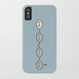 Cloudy Mornings iPhone Case