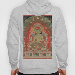 Green Tara 13th Century Tibetan Art Hoody
