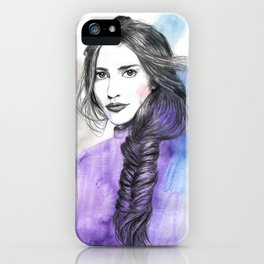 Lizzie II iPhone Case