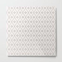 Mae Pattern I Metal Print