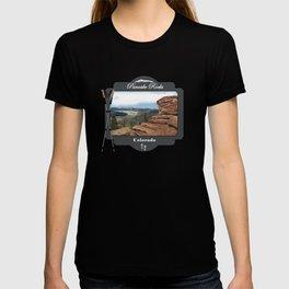 Pancake Rocks Divide Colorado T-shirt