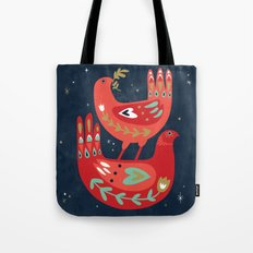 Two Turtledoves Tote Bag