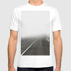 CA Route 267 Mens Fitted Tee MEDIUM White