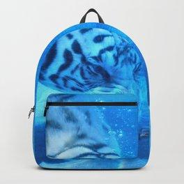 Diving Tiger Backpack