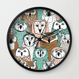 owls limited Wall Clock