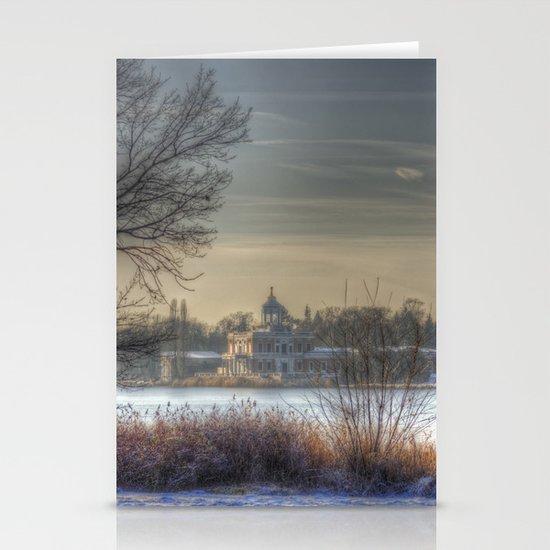 Winter palace Potsdam Stationery Cards