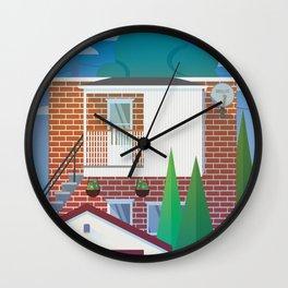 Neighbor Wall Clock