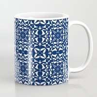 aelwen Mugs featuring Blue by Shelly Bremmer