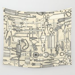 fiendish incisions cream Wall Tapestry
