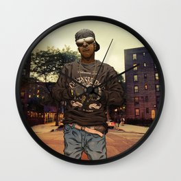 Imam Thug - Streets Of Iraq Wall Clock