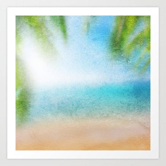 Tropical Sea #3 Art Print