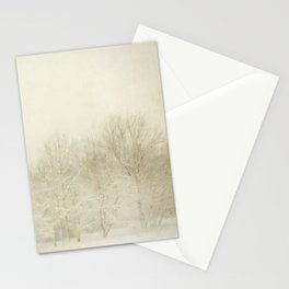 Snow Scene Stationery Cards