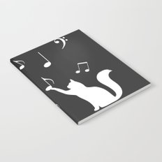Cat music Notebook