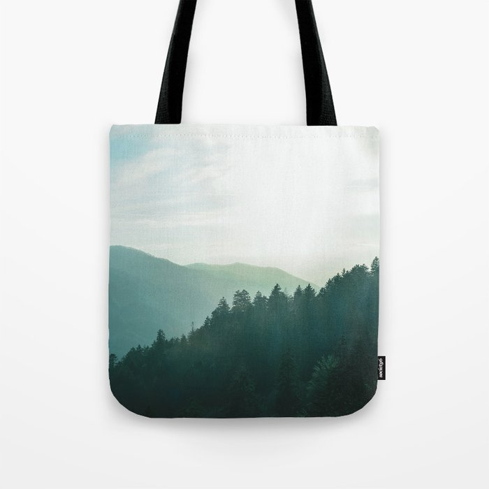 Green Forest, Slow down! Tote Bag