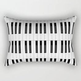 Piano / Keyboard Keys Rectangular Pillow