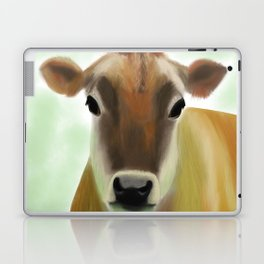 The Jersey - the prettiest cow in the world Laptop & iPad Skin