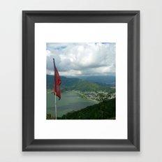 Nepal 360° Framed Art Print