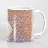 asian Mugs featuring Asian Pear by Lyssia Merrifield