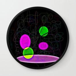 Floating Circles Wall Clock