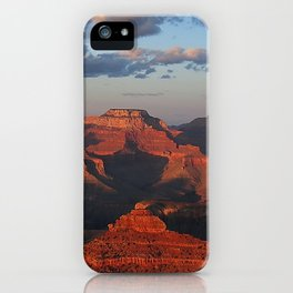 Grand Canyon Sunset Colors iPhone Case