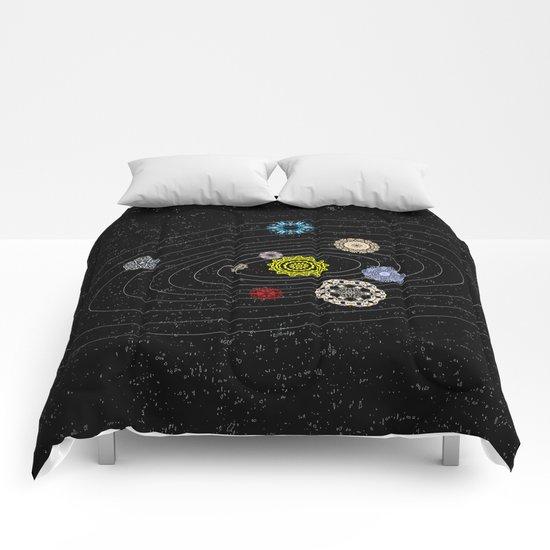 Mandala Solar Sistem Comforters