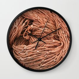Net Pile VI Wall Clock