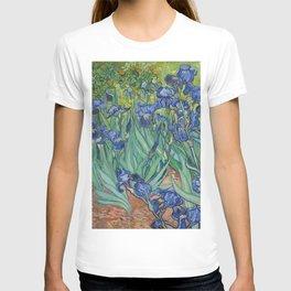 Irises by Vincent van Gogh T-shirt