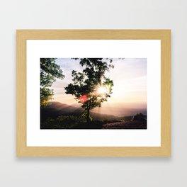 Shine on  Framed Art Print