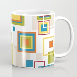 Abstract square patterns Coffee Mug