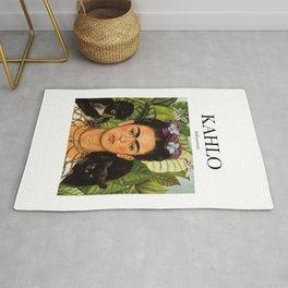 Kahlo - Self-portrait Rug