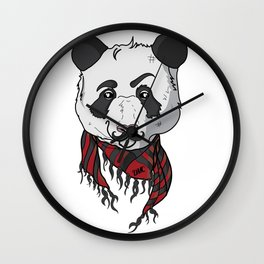Be the Panda. Wall Clock