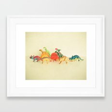 Walking With Dinosaurs Framed Art Print