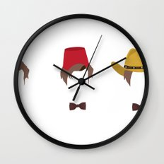 Doctor Who's Guide To Being Cool Wall Clock