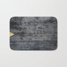 gOld triangle Bath Mat