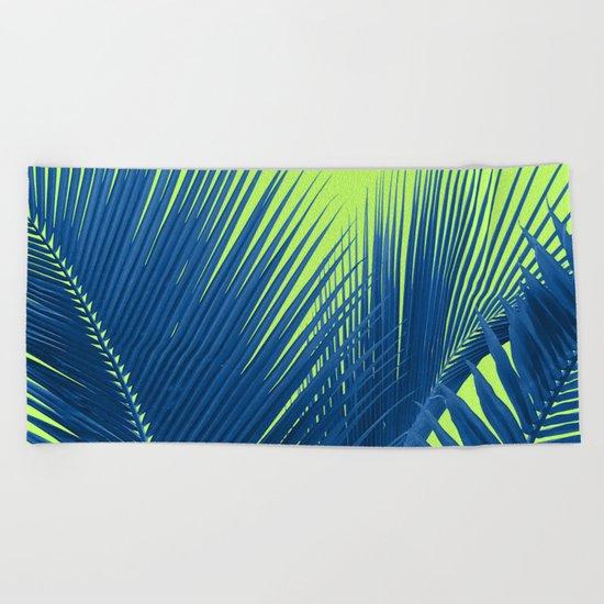 Let's Go Lime Beach Towel