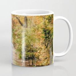 Autumn Passage 2 - Fall Landscape Scene Coffee Mug