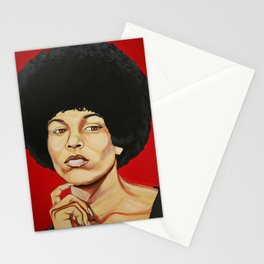 "Angela Davis ""Revolutionary"" Stationery Cards"