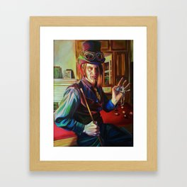 """Times Up"" Framed Art Print"